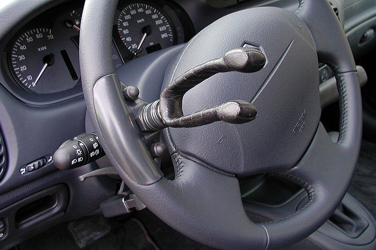 Nástavec na volant - rychloupínací vidlička LODGESONS