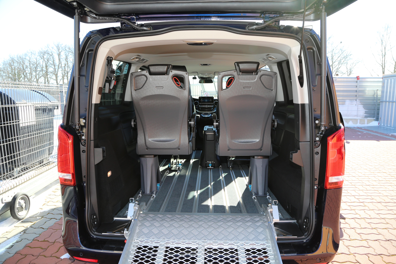 Multifunkční sedadla do třetí řady TRIBUS - SEAT