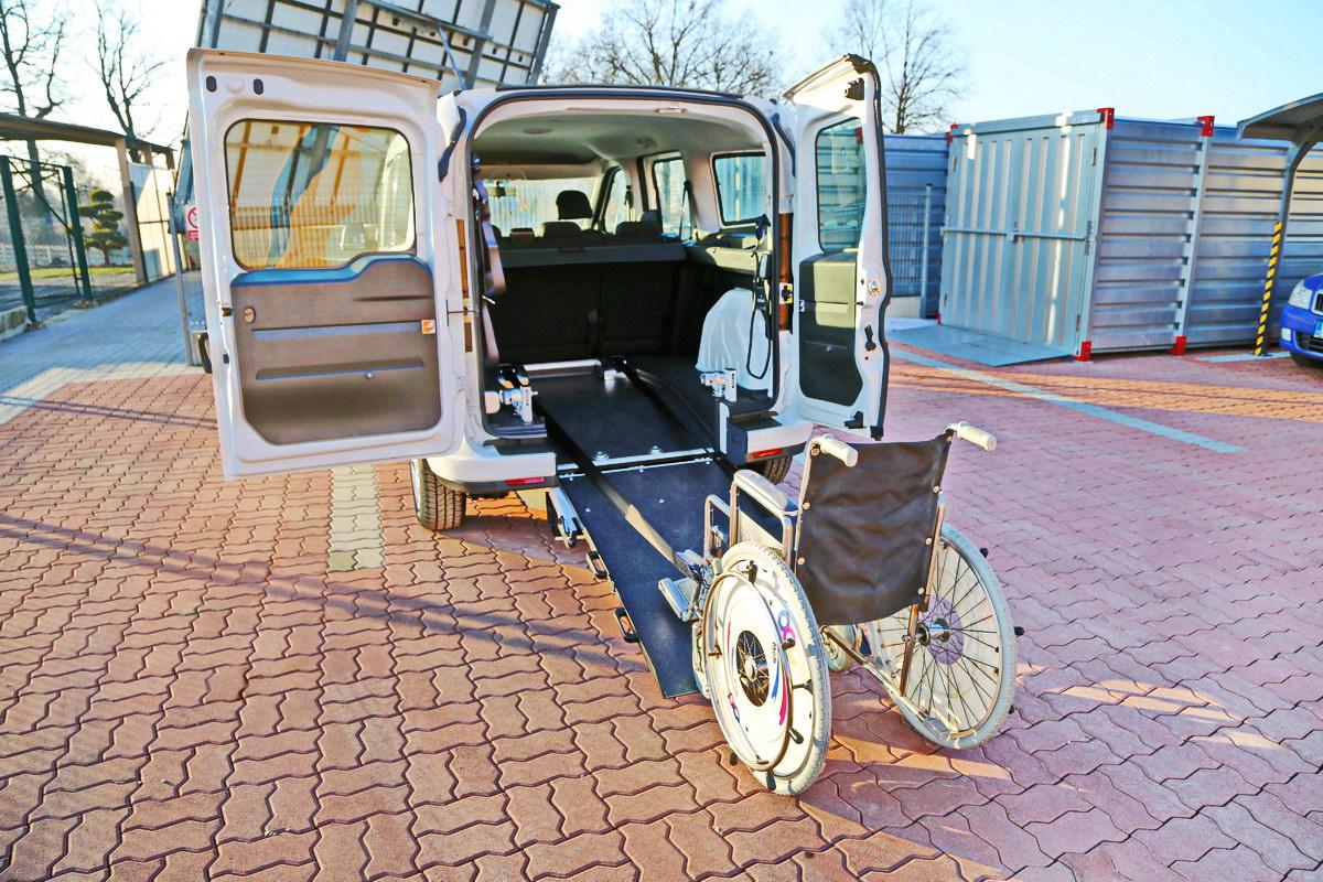 Kotvící zařízení invalidního vozíku - INQLINE