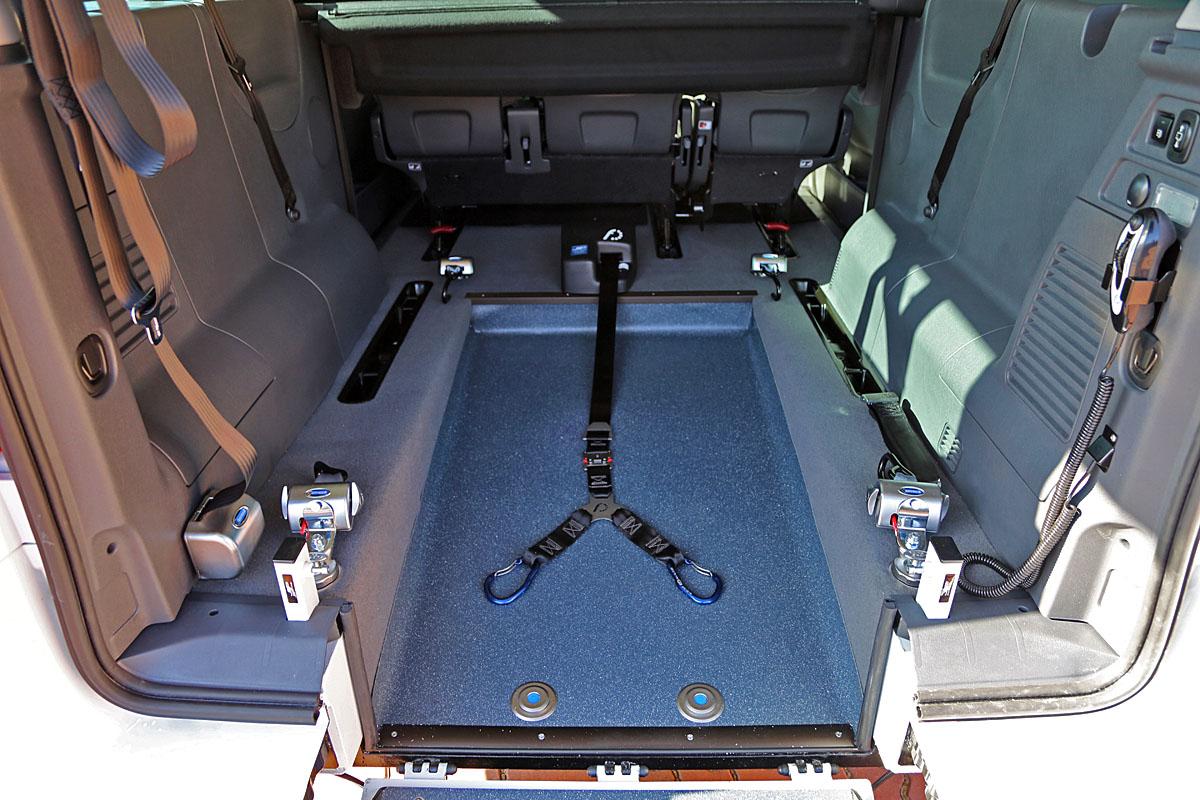 Elektrické navíjecí zařízení vozíku
