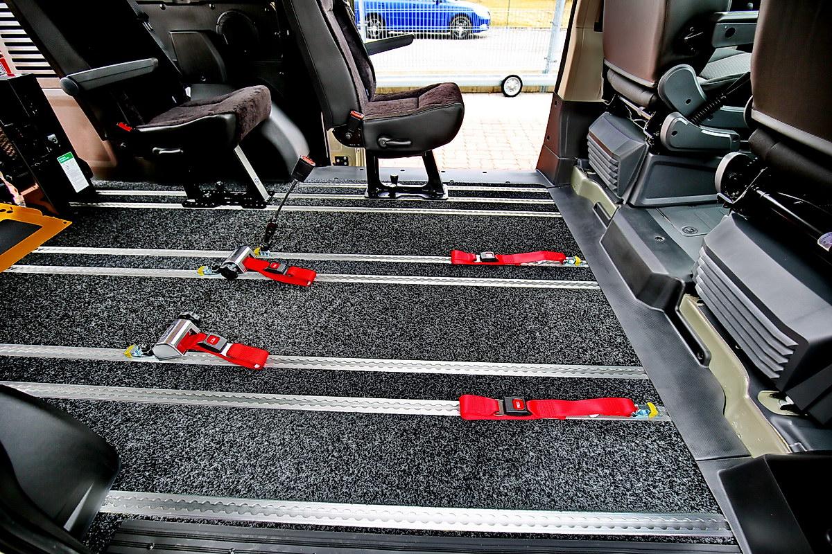 Celohliníkový multifunkční podlahový systém M1 - JP SERVIS